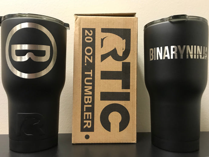 Double Walled Binary Ninja Tumbler