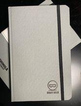 Front cover of the Binary Ninja branded Shinola Ruled Notebook