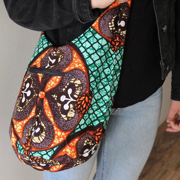 Sojourner Satchel: Tribal Print
