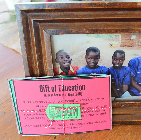 Gifts of Education