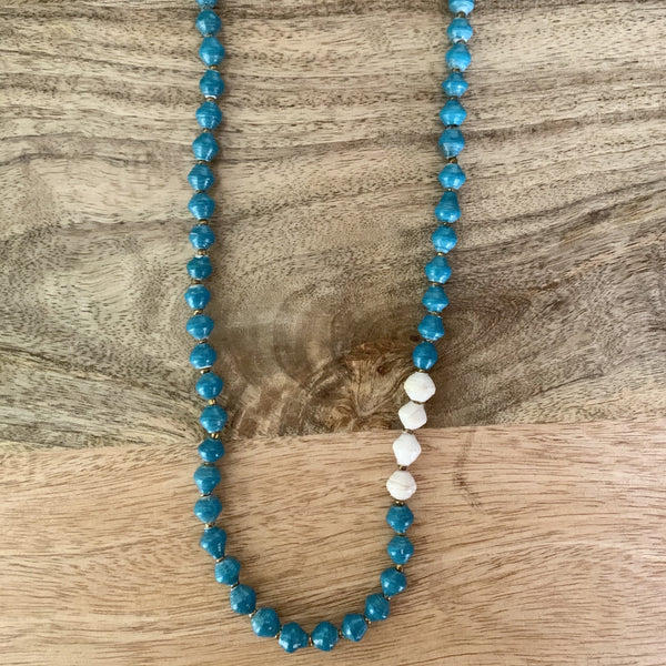 Day Dreamer Necklace in Blue