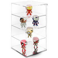 #1109-B Acrylic Display Showcase Case