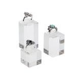 #1301 Acrylic Ring Stand Display Set