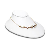#171-1 Lay Down Necklace Bust Display
