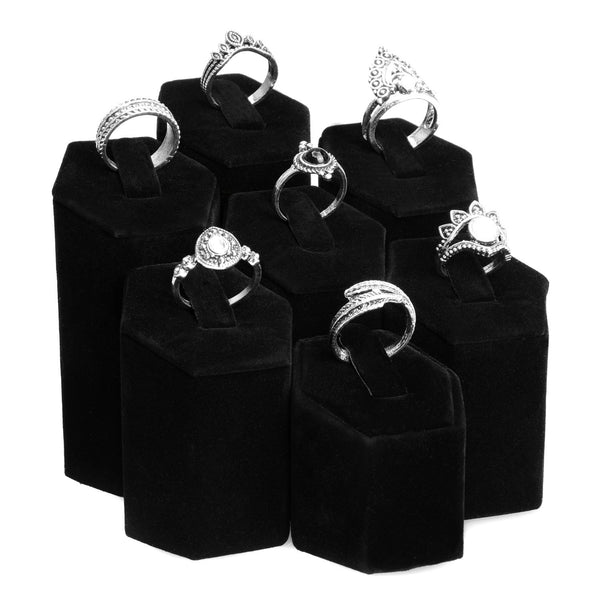 #202 Ring Pedestals Display Set