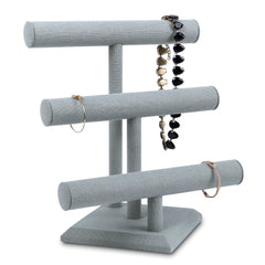 #216-LNLTG Necklace Bracelet and Watch Holder Display Stand with 3 Tier