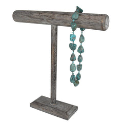 Antique Colored Wooden T-Bar Display | Nile Corp