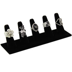#245-5 Five Finger Shaped Ring Display