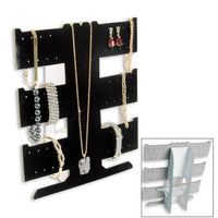 Flocked Cardboard (24) Earring Display-Nile Corp