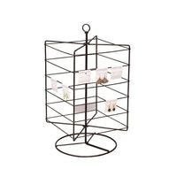 #261-401 Rotating Metal Wire Earring Rack | Nile Corp