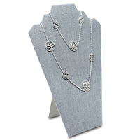 #60-1-LNLTG Jewelry Stand Display Necklace Display for Craft Shows, Dim Grey Linen