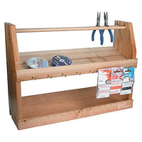Wooden Jewelry Bead Tool Organizer | Nile Corp