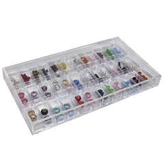 Acrylic Display and Storage Case with Containers | Nile Corp