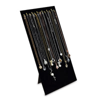 #68-HA Necklace and Chain Display Pad with Easel