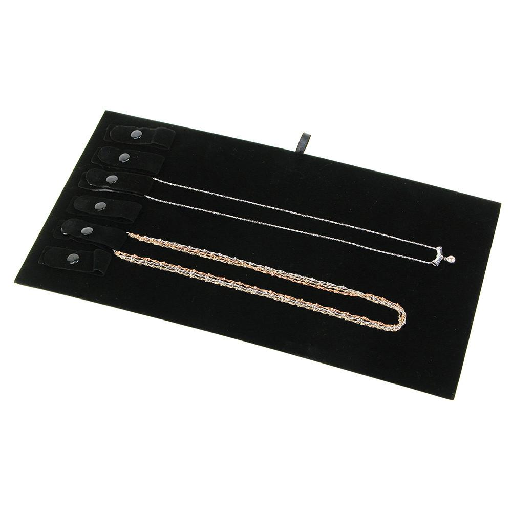 Necklace Display Pad with Snaps | Nile Corp