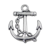 Pewter Anchor Charm -Nile Corp