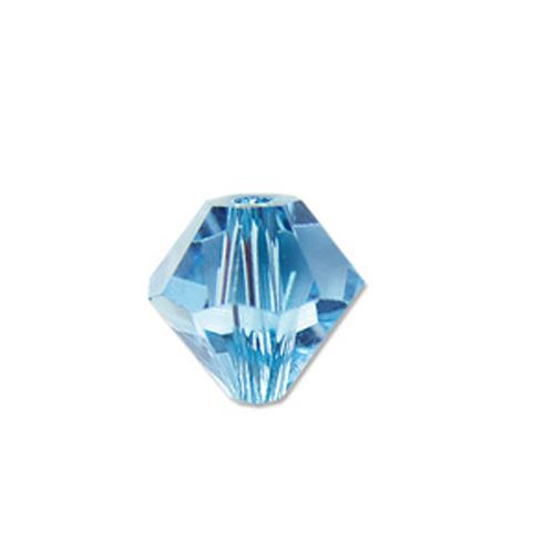 #BCS-53014 (AQUA) Swarovski Diamond Bicone, 4mm | Nile Corp