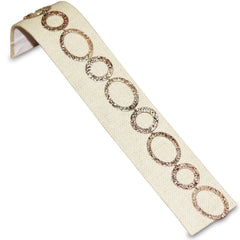 #BD-1239N-LE Linen Bracelet Display Ramp | Nile Corp
