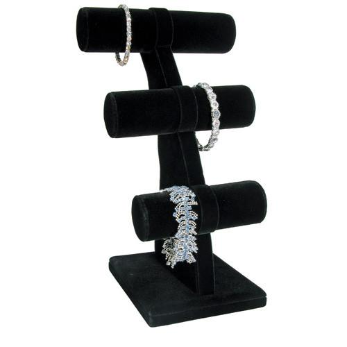 Three Bars Jewelry Bracelet Display-Nile Corp