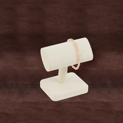 Beige T-Bar Bracelet Display-Nile Corp