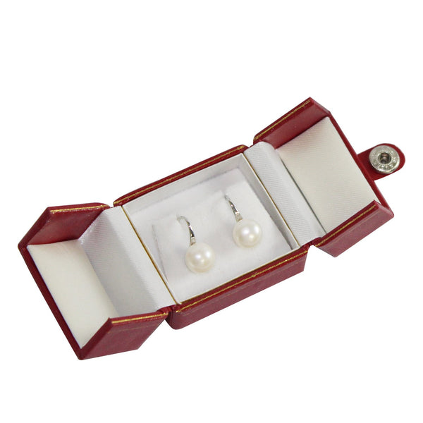 Small Leatherette Earring Box | Nile Corp