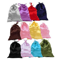 #BX1231-MX Satin Drawstring Pouches