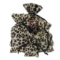 Leopard Printed Sheer Pouches-Nile Corp
