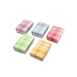 Plaid Printed Boxes