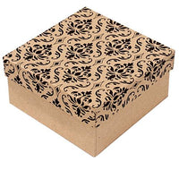 Damask Cotton Filled Boxes-Nile Corp
