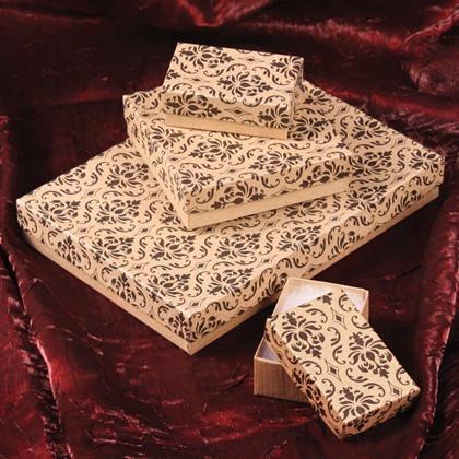 Damask Cotton Filled Box-Nile Corp