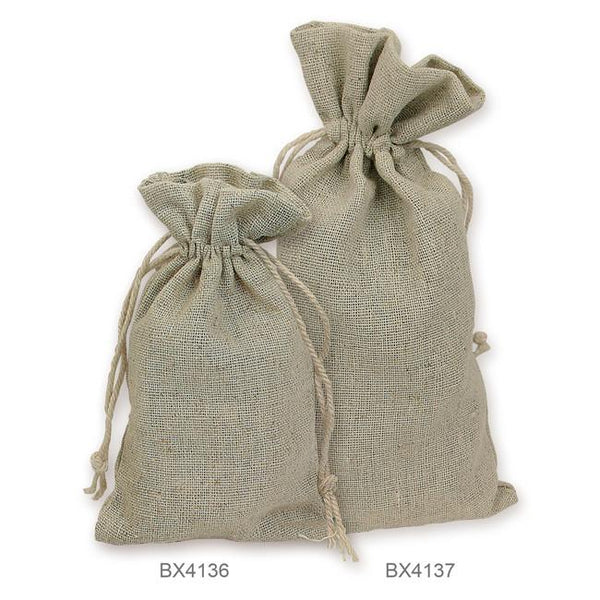 Natural Linen Pouches -Nile Corp