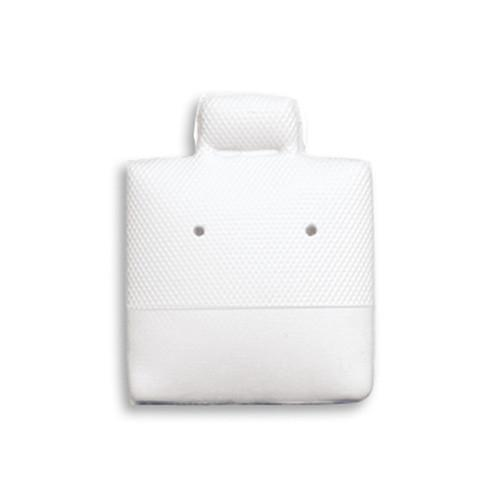 Plain White Earring Puff Pads-Nile Corp