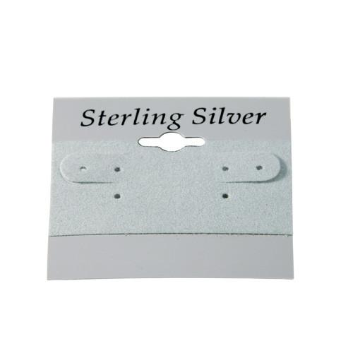 Earring Hanging Card with Sterling Silver-Nile Corp