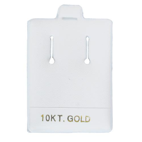 Earring Puff Pad with 10KT-Nile Corp