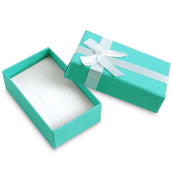 #BX6592 Solid Color Jewelry Boxes with ribbon