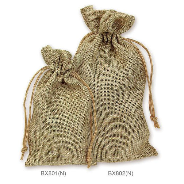 Colored Burlap Pouches-Nile Corp