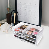 #COM015 Acrylic Makeup Storage Box