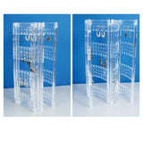 Foldable Acrylic Earring Storage and Display Stand | Nile Corp