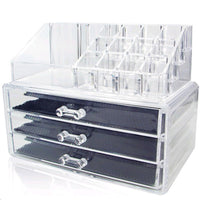 #COMS2950  Acrylic Jewelry & Cosmetic Storage Display Boxes