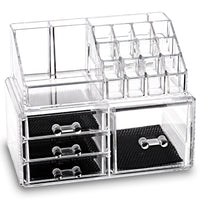 Acrylic Jewelry & Cosmetic Storage Display Boxes Two Pieces Set | Nile Corp