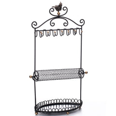 Metal Jewelry Display Jewelry Stand Hanger Organizer | Nile Corp