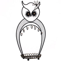 Metal Owl Jewelry Display and Jewelry Stand Hanger Organizer | Nile Corp