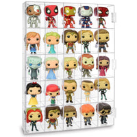 #COT3025  Acrylic Display Rack for Funko Pop Figure Display, with 25 Compartments