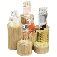 #DPW515-OK Wooden 6 Pcs Round Risers Display