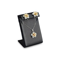#ED-0461-87R Steel Gray Earring and Necklace Display Stand