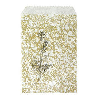 #EN114 Gold Tone Printed Paper Gift Bags | Nile Corp