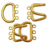 Brass Hook Clasp. 23mm x 15mm | Nile Corp