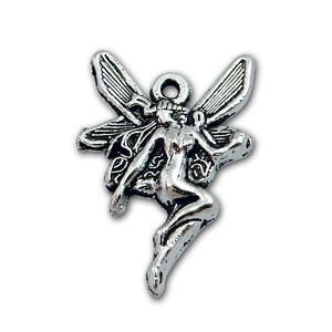 Pewter Fairy Charm-Nile Corp