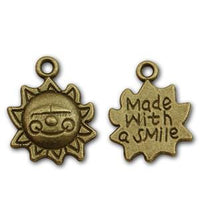 Pewter Face Charm-Nile Corp