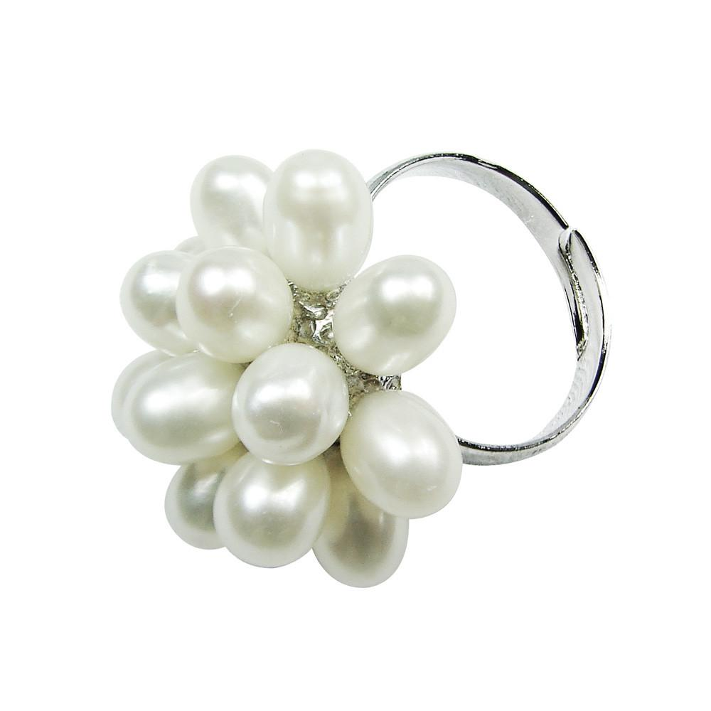 Fresh Water Pearl Ring. One Size Fits All-Nile Corp